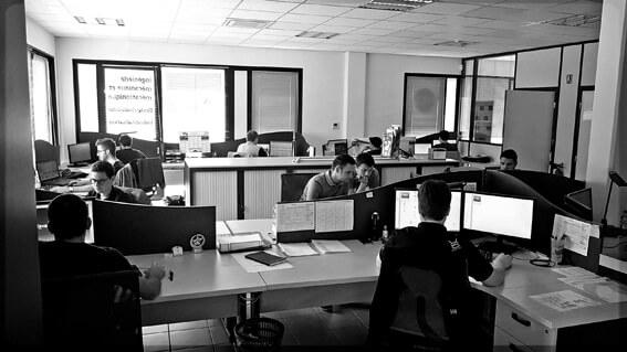 Bureaux Open Space collaboratifs