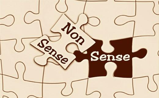 Sens/non-sens