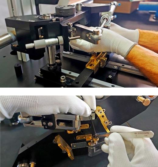 Montage mécanique avec précision