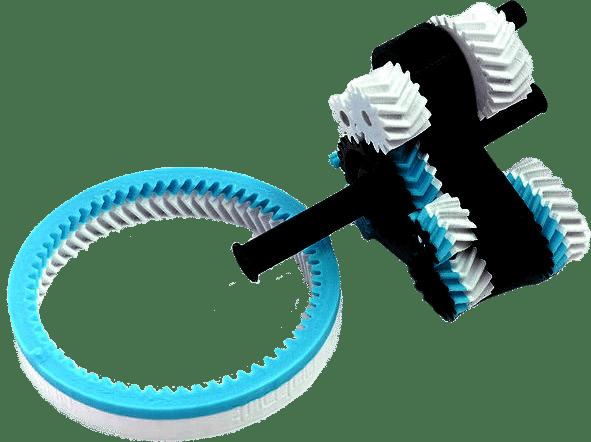 Pièce plastique en impression 3D